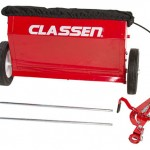Seed box and rods Classen Turf Overseed TS-20H