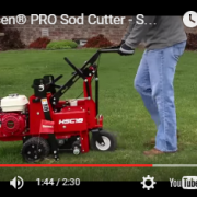 Classen Pro Sod Cutter Video