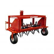 Classen Tow Behind Aerator is easily used with the average 15 hp riding mower or tractor.