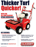 Self-Propelled Turf Overseeder Spec Sheet