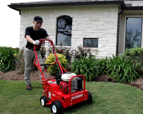 Aerators Revitalize Lawns