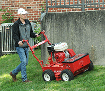 A professional turf seeder can make quick work of seeding a new lawn or overseeding problem areas.