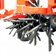 Classen Tow Behind Aerators are easily used with the average 15 hp riding mower or tractor.