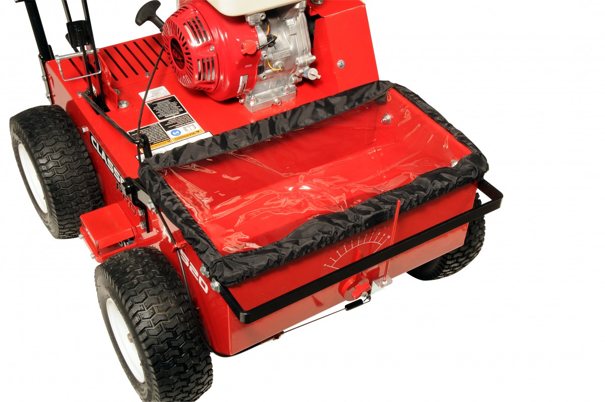 A Floating Seed Box Like On Clen S Pro Hts20 Hydro Drive Overseeder Enhances