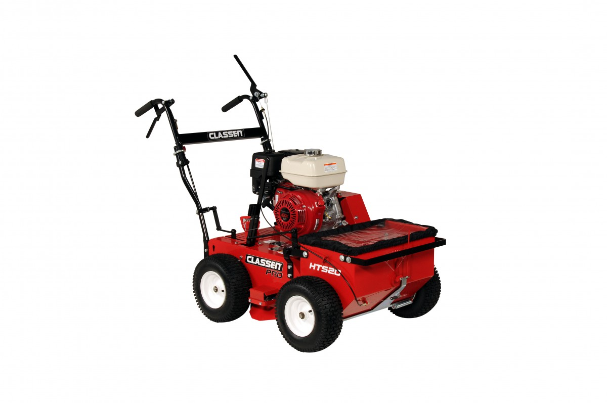 When Purchasing An Overseeder Look For Models That Incorporate A Hydrostatic Drive Like This